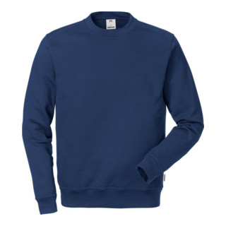 Fristads Baumwoll-Sweatshirt 7016 SMC (Herren) Dunkelblau