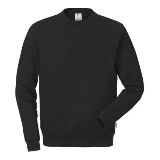 Fristads Baumwoll-Sweatshirt 7016 SMC Schwarz (Herren)