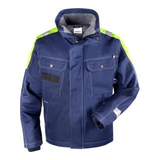Fristads Baumwoll-Winterjacke 447 FASI Blau (Herren)