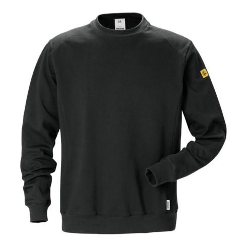 Fristads ESD Sweatshirt 7083 XSM Schwarz (Herren)
