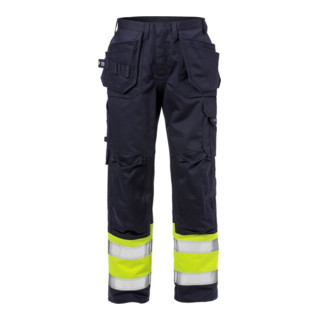 Fristads Flame High Vis Handwerkerhose Kl. 1 2586 FLAM (Herren)