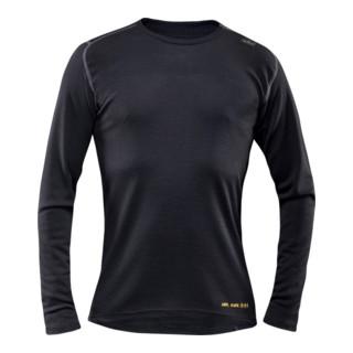 Fristads Flamestat Devold T-Shirt Langarm 7436 UD Schwarz (Herren)