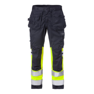 Fristads Flamestat High Vis Stretch-Handwerkerhose, Kl. 1 2163 ATHF (Herren)