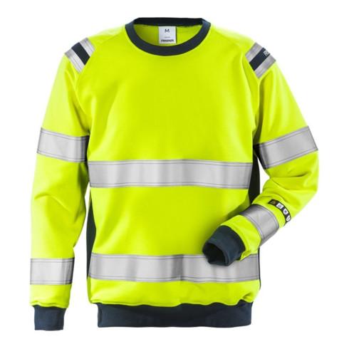 Fristads Flamestat High Vis Sweatshirt Kl. 3 7076 SFLH (Herren)