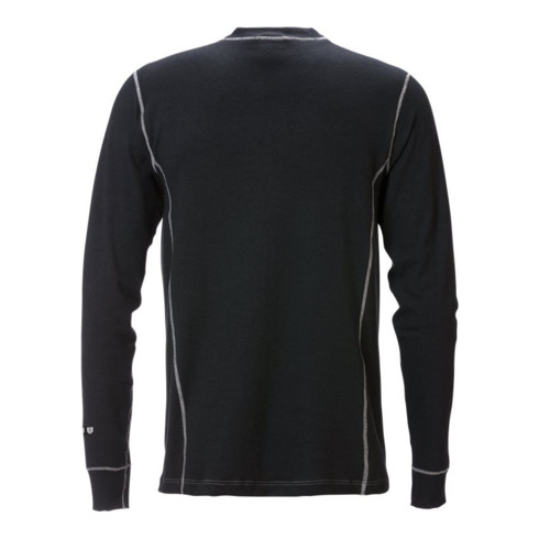 Fristads Flamestat T-Shirt Langarm 7026 MOF Schwarz (Herren)
