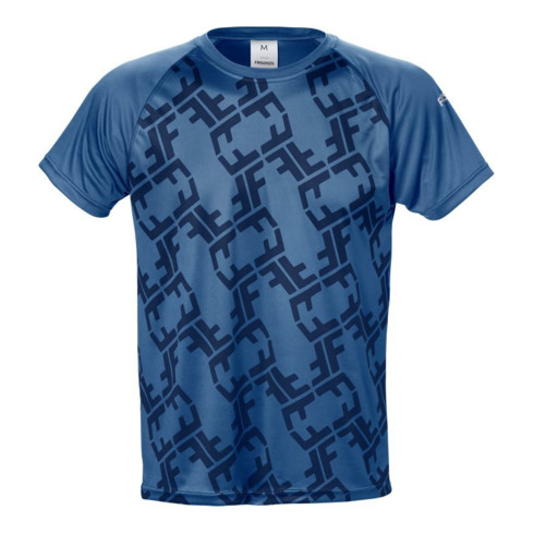 Fristads Friwear T-Shirt 7456 LKN Blau (Herren)