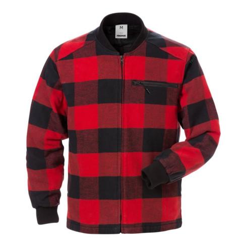 Fristads Gestepptes Flanellhemd Langarm 7096 SWP Rot (Herren)