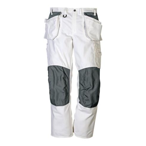Fristads Handwerker Baumwoll-Hose Damen 259 BM Weiß (Damen)