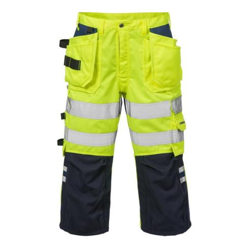 Fristads High Vis 3/4 Handwerkerhose Kl. 2 2027 PLU (Herren)