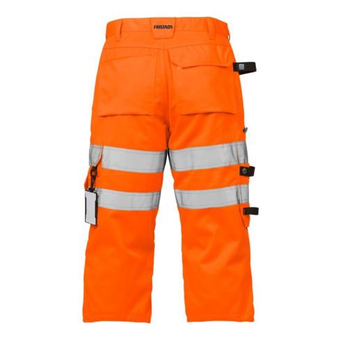 Fristads High Vis 3/4 Handwerkerhose Kl. 2 2027 PLU Orange (Herren)
