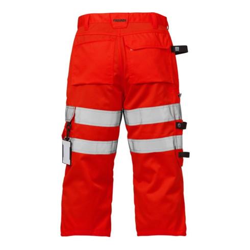 Fristads High Vis 3/4 Handwerkerhose Kl. 2 2027 PLU Rot (Herren)