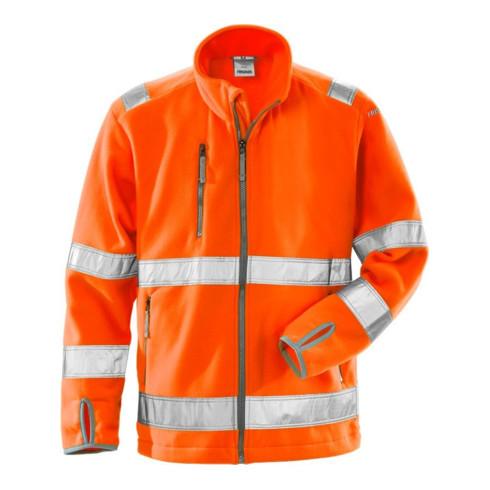 Fristads High Vis Fleecejacke Kl. 3 4400 FE Orange (Herren)