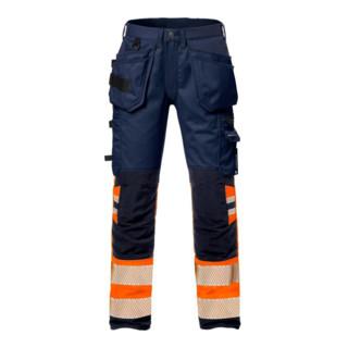 Fristads High Vis Handwerker Stretch-Hose Damen Kl. 1 2709 PLU Orange (Damen)