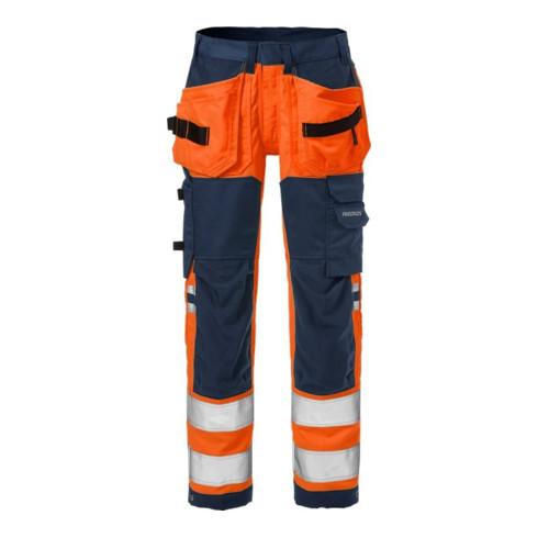 Fristads High Vis Handwerker Stretch-Hose Damen Kl. 2 2613 PLUS Orange (Damen)
