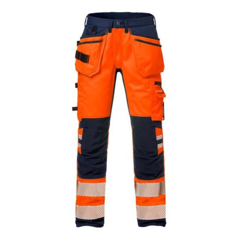 Fristads High Vis Handwerker Stretch-Hose Kl. 2 2707 PLU Orange (Herren)