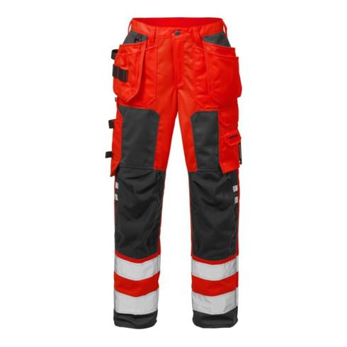 Fristads High Vis Handwerkerhose Damen Kl. 2 2125 PLU Rot (Damen)