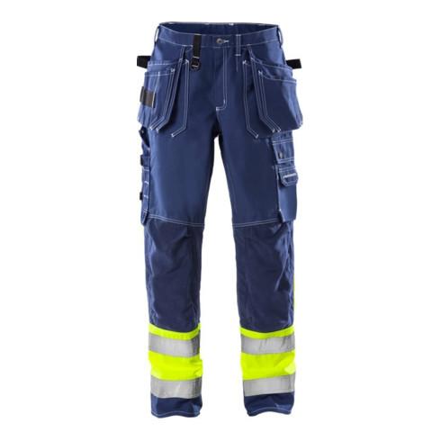 Fristads High Vis Handwerkerhose Kl. 1 247 FAS Blau (Herren)