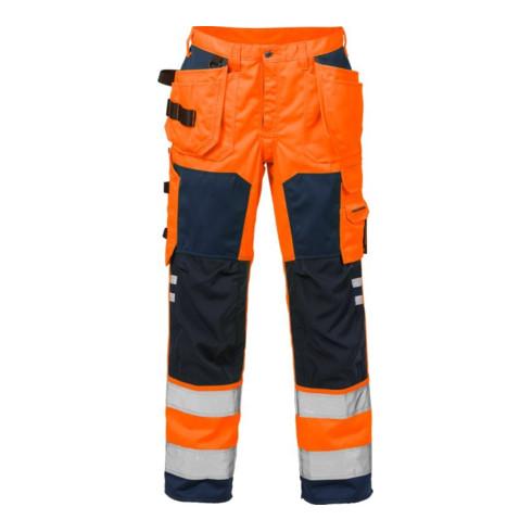 Fristads High Vis Handwerkerhose Kl. 2 2025 PLU Orange (Herren)