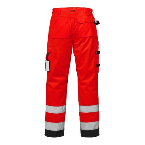 Fristads High Vis Handwerkerhose Kl. 2 2025 PLU Rot (Herren)