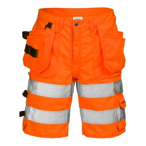 Fristads High Vis Handwerkershorts Kl. 2 2028 PLU Orange (Herren)