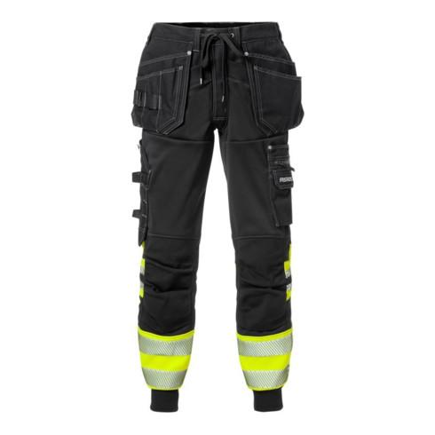 Fristads High Vis Jogginghose für Handwerker, Kl. 1 2519 SSL Gelb (Herren)