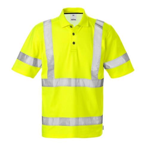 Fristads High Vis Poloshirt 7025 Kl. 3 PHV Gelb (Herren)