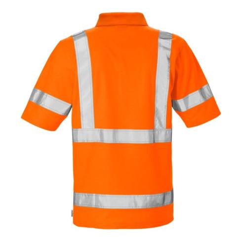 Fristads High Vis Poloshirt 7025 Kl. 3 PHV Orange (Herren)