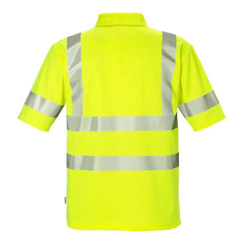 Fristads High Vis Poloshirt Kl. 3 7406 PHV Gelb (Herren)