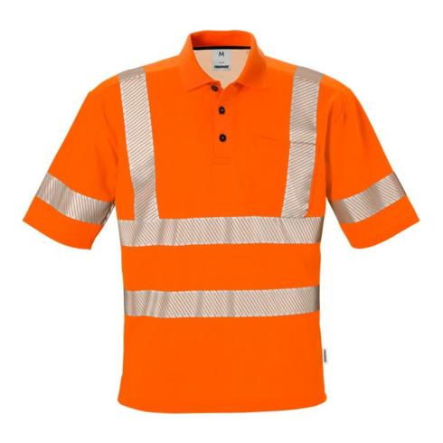 Fristads High Vis Poloshirt Kl. 3 7406 PHV Orange (Herren)