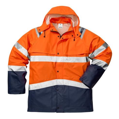 Fristads High Vis Regenjacke Kl. 3 4624 RS Orange (Unisex)