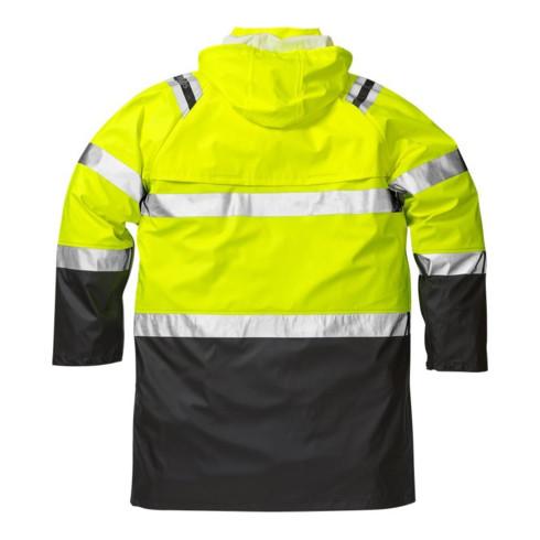 Fristads High Vis Regenmantel Kl. 3 4634 RS Gelb (Unisex)