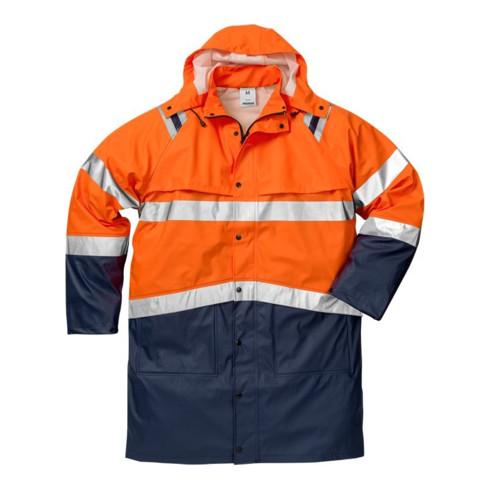 Fristads High Vis Regenmantel Kl. 3 4634 RS Orange (Unisex)