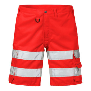 Fristads High Vis Shorts Kl. 2 2528 THL Rot (Herren)