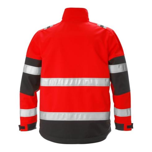 Fristads High Vis Softshell-Jacke Kl. 2 4083 WYH Rot (Herren)