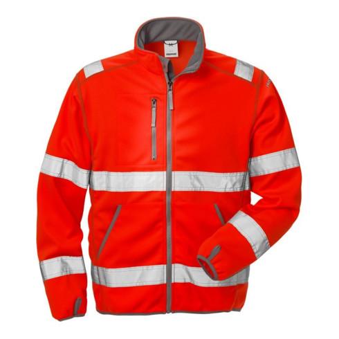 Fristads High Vis Softshell-Jacke Kl. 3 4840 SSL Rot (Herren)