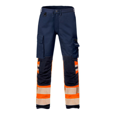 Fristads High Vis Stretch-Hose Kl. 1 2705 PLU Orange (Herren)