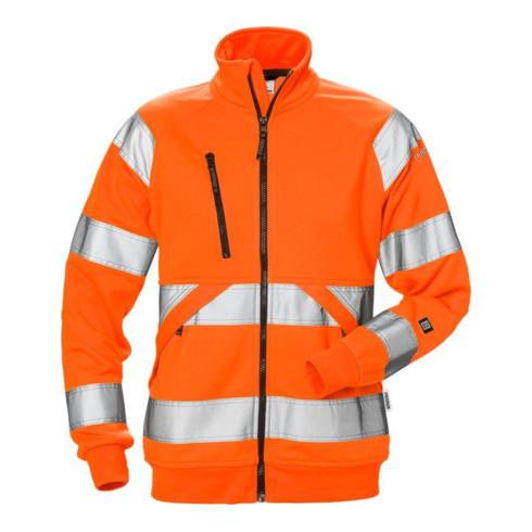 Fristads High Vis Sweatjacke Damen Kl.3 7427 SHV Orange (Damen)
