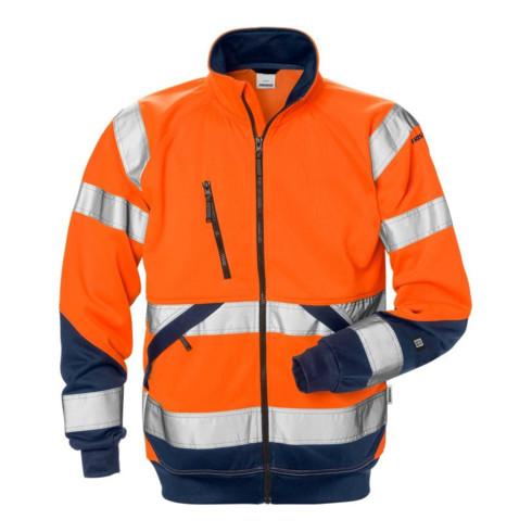 Fristads High Vis Sweatjacke Kl.3 7426 SHV Orange (Herren)