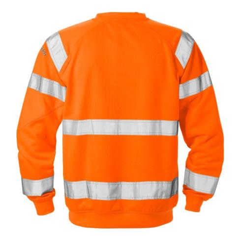 Fristads High Vis Sweatshirt Kl. 3 7446 SHV Orange (Herren)