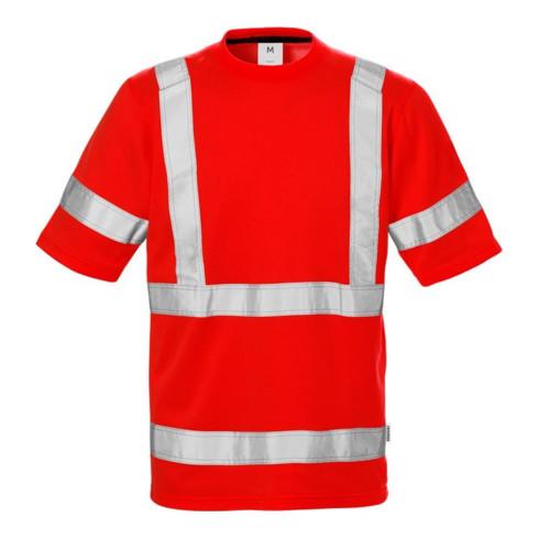 Fristads High Vis T-Shirt 7024 Kl. 3 THV Rot (Herren)