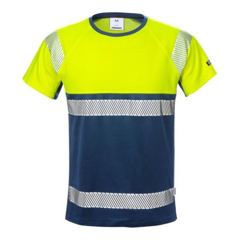 Fristads High Vis T-Shirt, Kl. 1 7518 THV Dunkelblau (Herren)