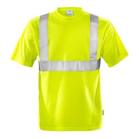 Fristads High Vis T-Shirt Kl. 2 7411 TP Gelb (Herren)