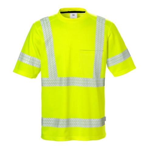Fristads High Vis T-Shirt Kl. 3 7407 THV Gelb (Herren)