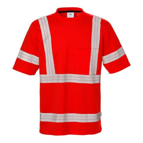 Fristads High Vis T-Shirt Kl. 3 7407 THV Rot (Herren)