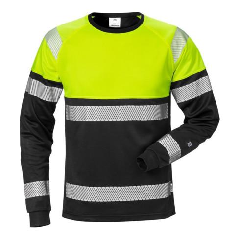Fristads High Vis T-Shirt Langarm Kl. 1 7519 THV Gelb (Herren)