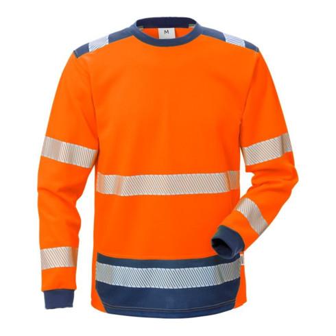 Fristads High Vis T-Shirt Langarm KL. 3 7724 THV Orange (Herren)