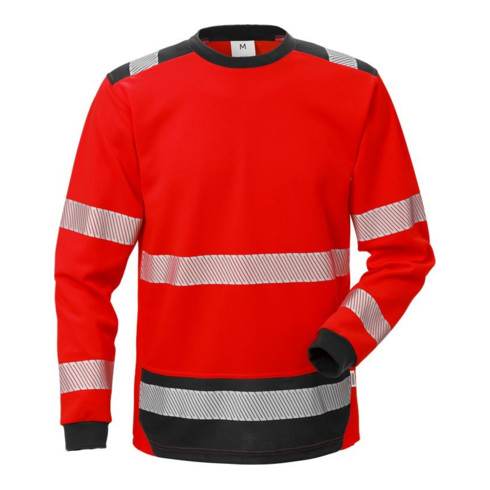 Fristads High Vis T-Shirt Langarm KL. 3 7724 THV Rot (Herren)
