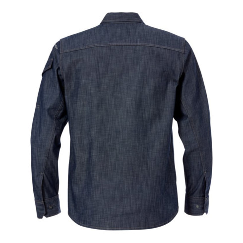 Fristads Jeanshemd 7003 DSH Blau (Herren)