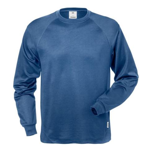 Fristads Langarm-T-Shirt 7071 THV Blau (Herren)
