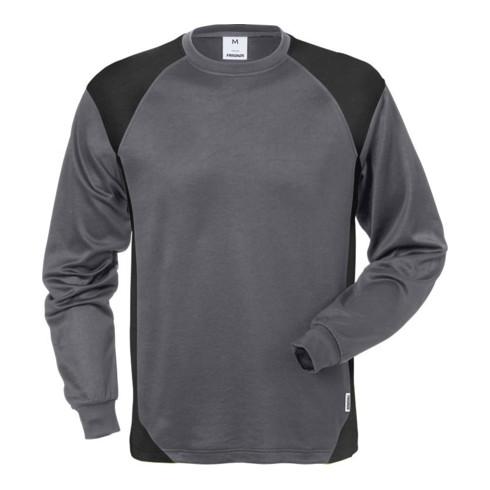 Fristads Langarm-T-Shirt 7071 THV Grau (Herren)